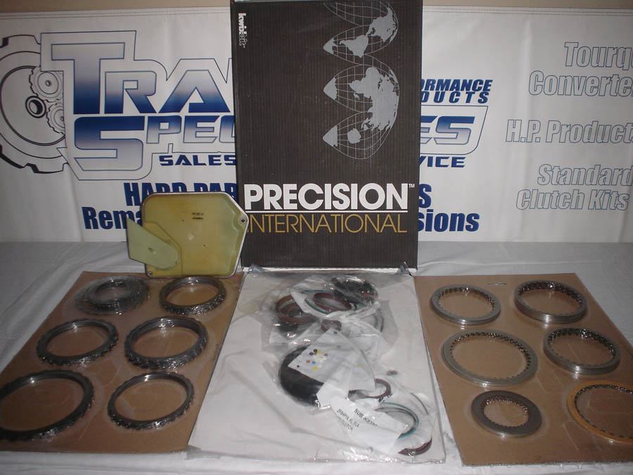 JAGUAR TRANSMISSION REBUILD KITS